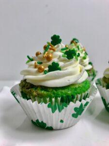 Pistachio Swirl Cupcake Recipe lizbushong.com