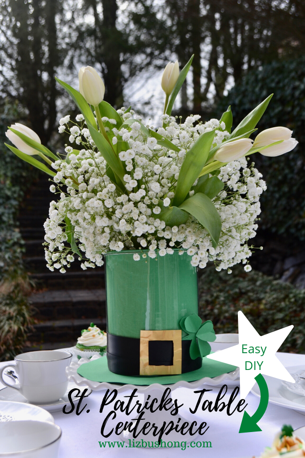 St Patricks Day Centerpiece DIY lizbushong.com