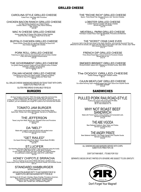 FOOD MENU GRILLED CHEESE SIDE 5 PRINT 1-1