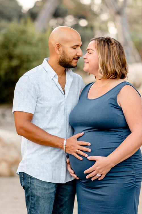 San Diego Balboa Park Cactus Garden Maternity Photos