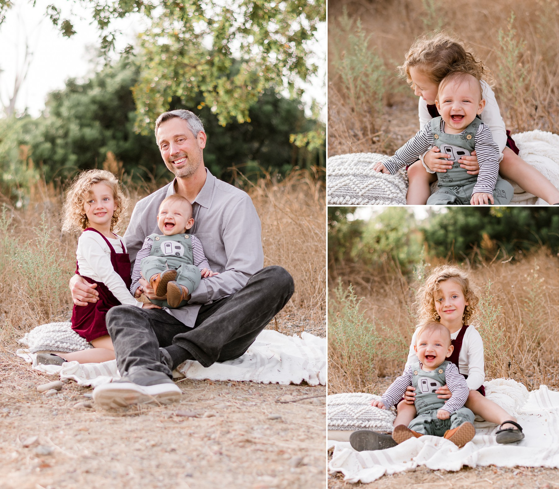 San Diego Canyons Family Photography