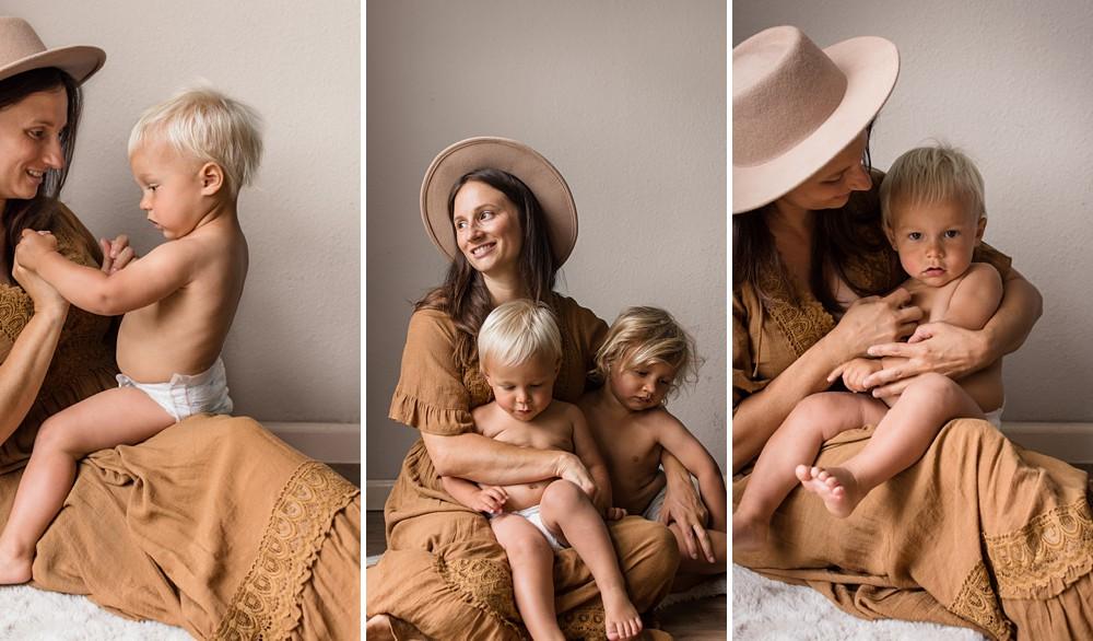 San Diego Boho Motherhood Photo Shoot