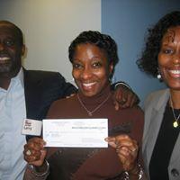 DDavina Receiving First Check