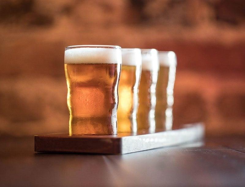 Pairing beer with food