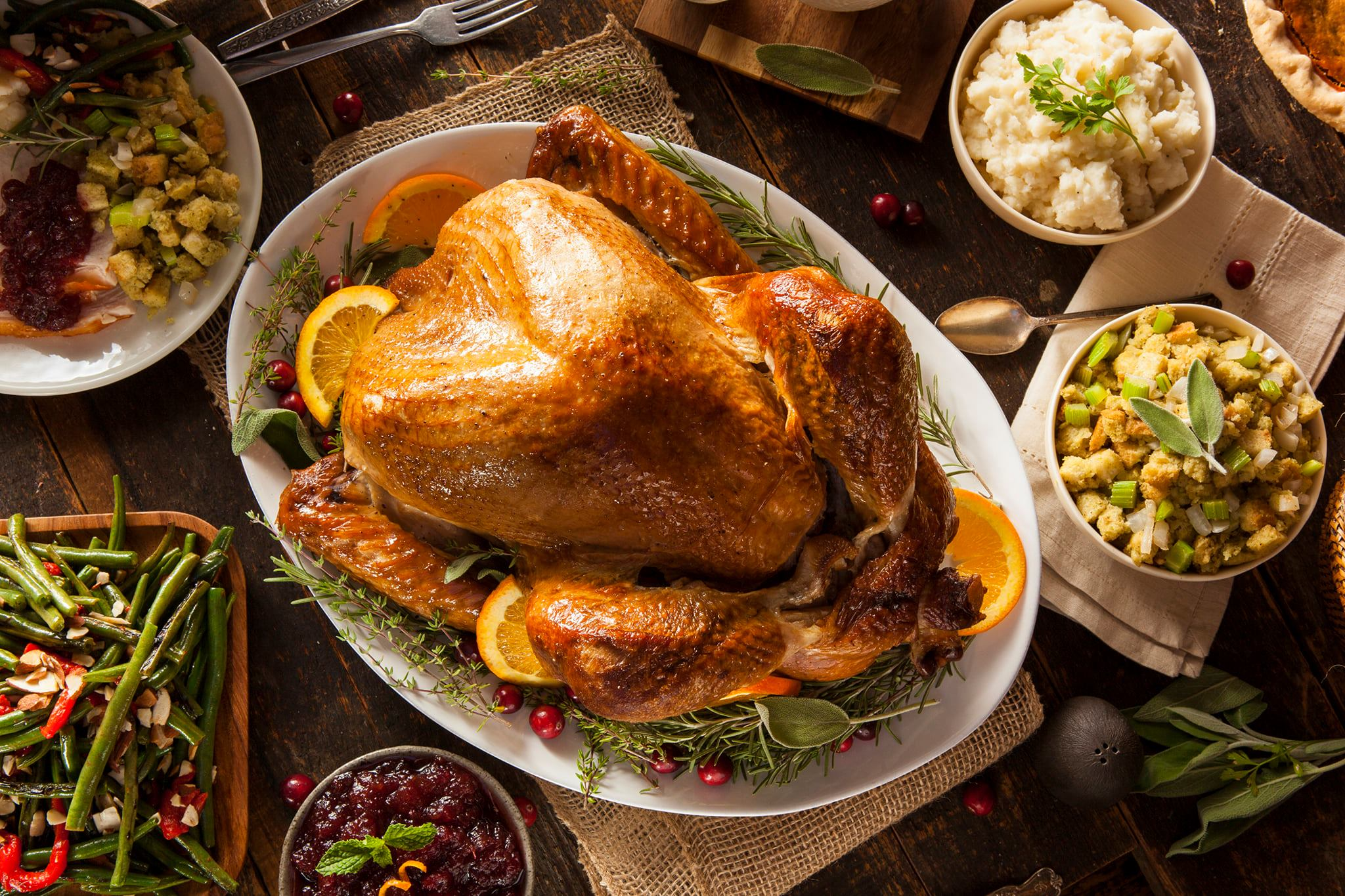 Thanksgiving Dinner on the Lawrenceville Square
