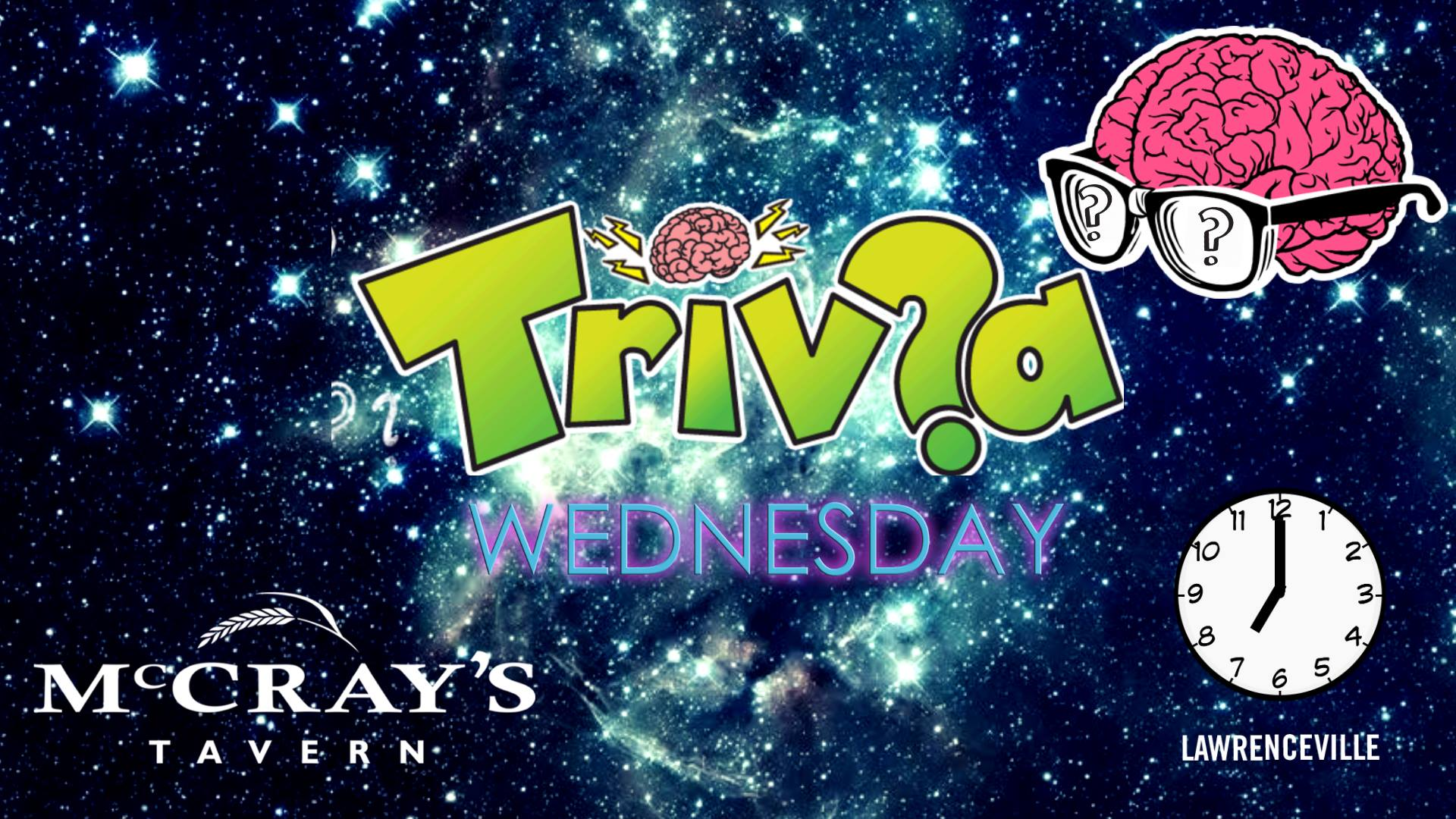 Trivia Wednesday & .50 Cent Wings   Lawrenceville