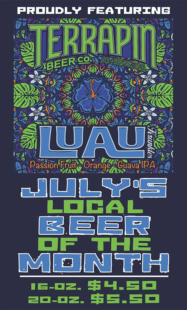 Beer of the Month Terrapin Luau