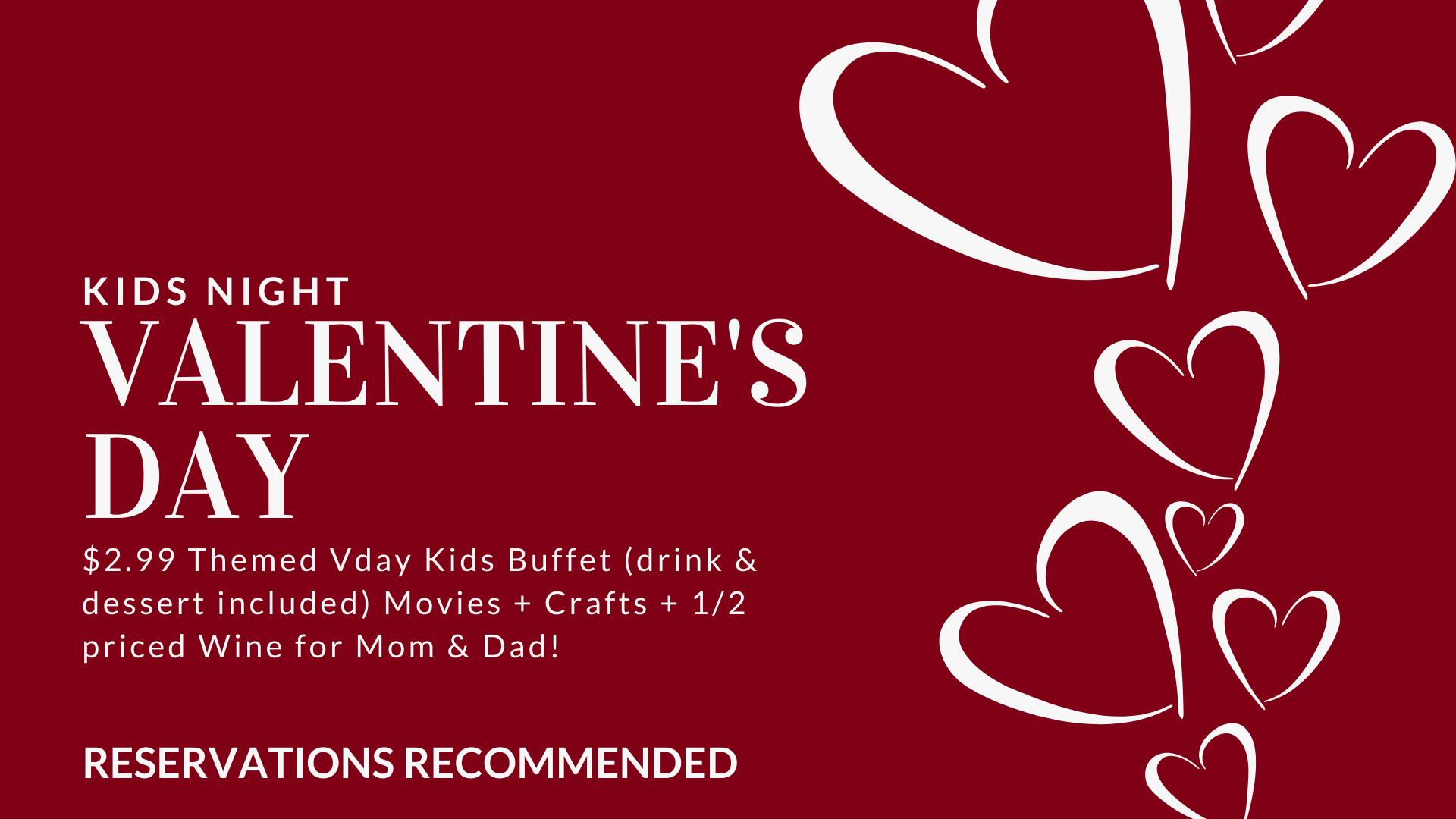 Valentine's Kids Night | Smyrna