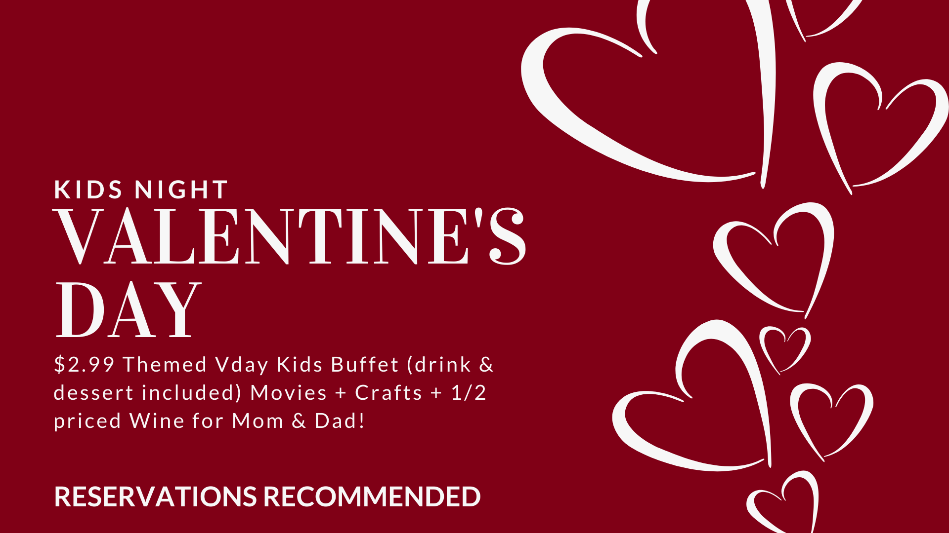 Valentine's Kids Night | Smyrna