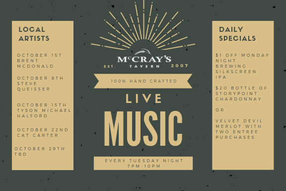 Live Music every Tuesday in Midtown