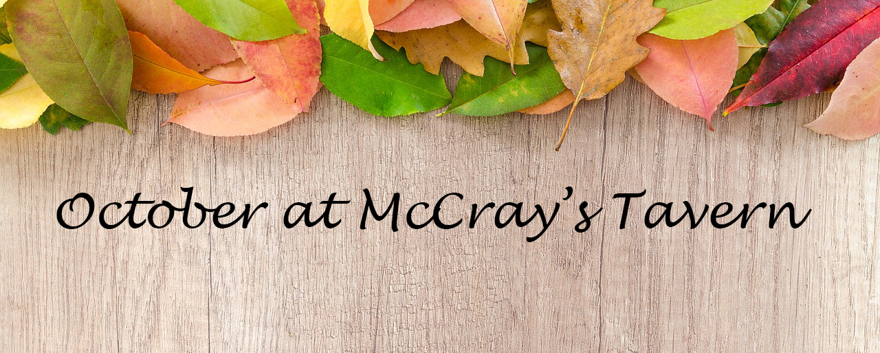 What to expect this October from McCray's
