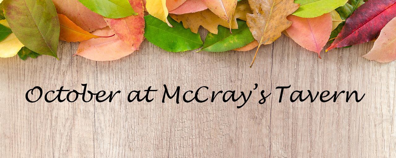 October @ McCray's