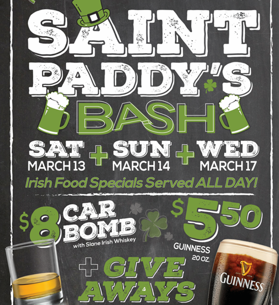 St Paddys Day Event