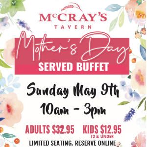 Mother's Day at McCray's
