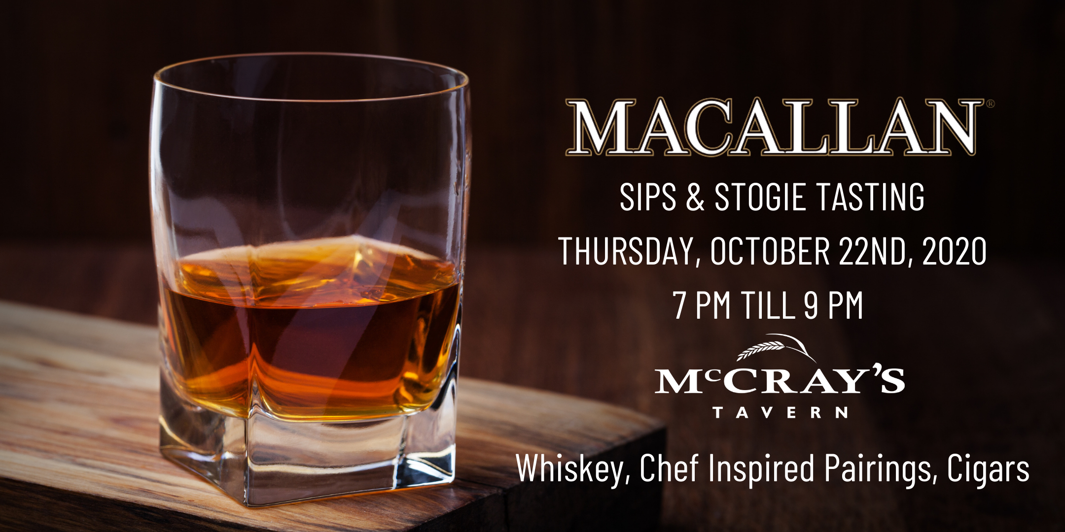 Sips & Stogies   The Macallan Scotch Whisky Tasting at East Cobb