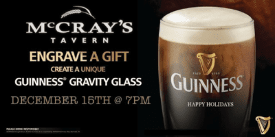 Engrave a Guiness Gravity Glass