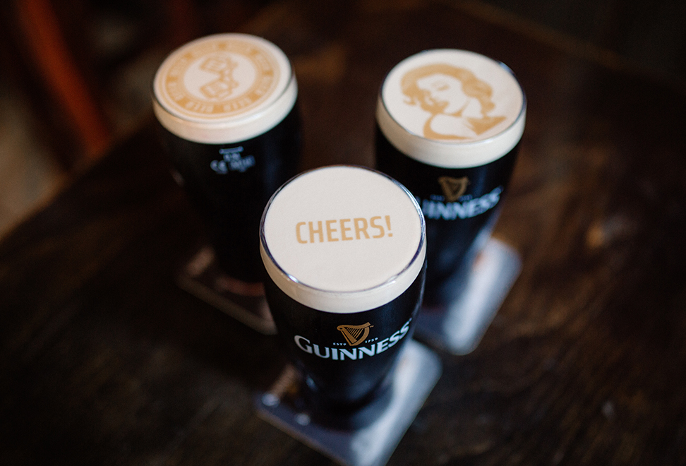 RIPPLES + GUINNESS = STOUTIE (A SELFIE ON A BEER!)   Smyrna + Midtown