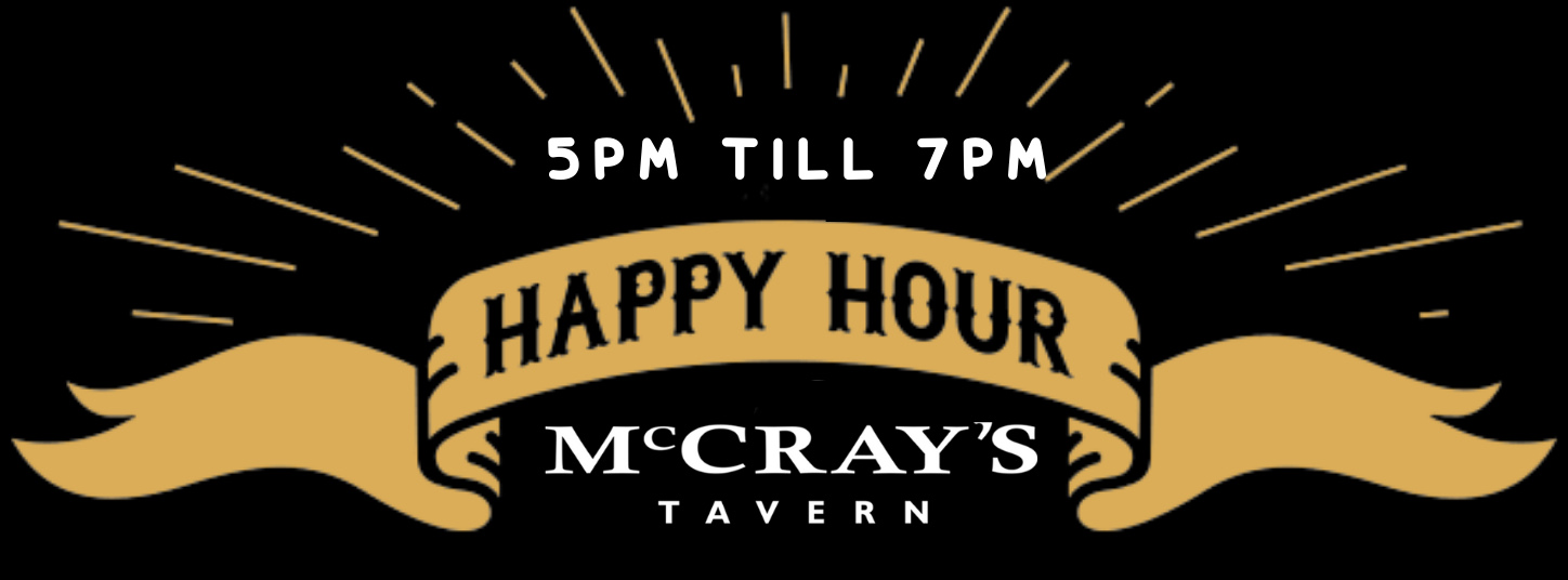 Brand New Happy Hour Announced at McCray's in Midtown!