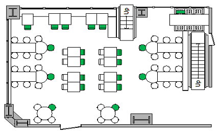 McCrays Midtown Seating Chart