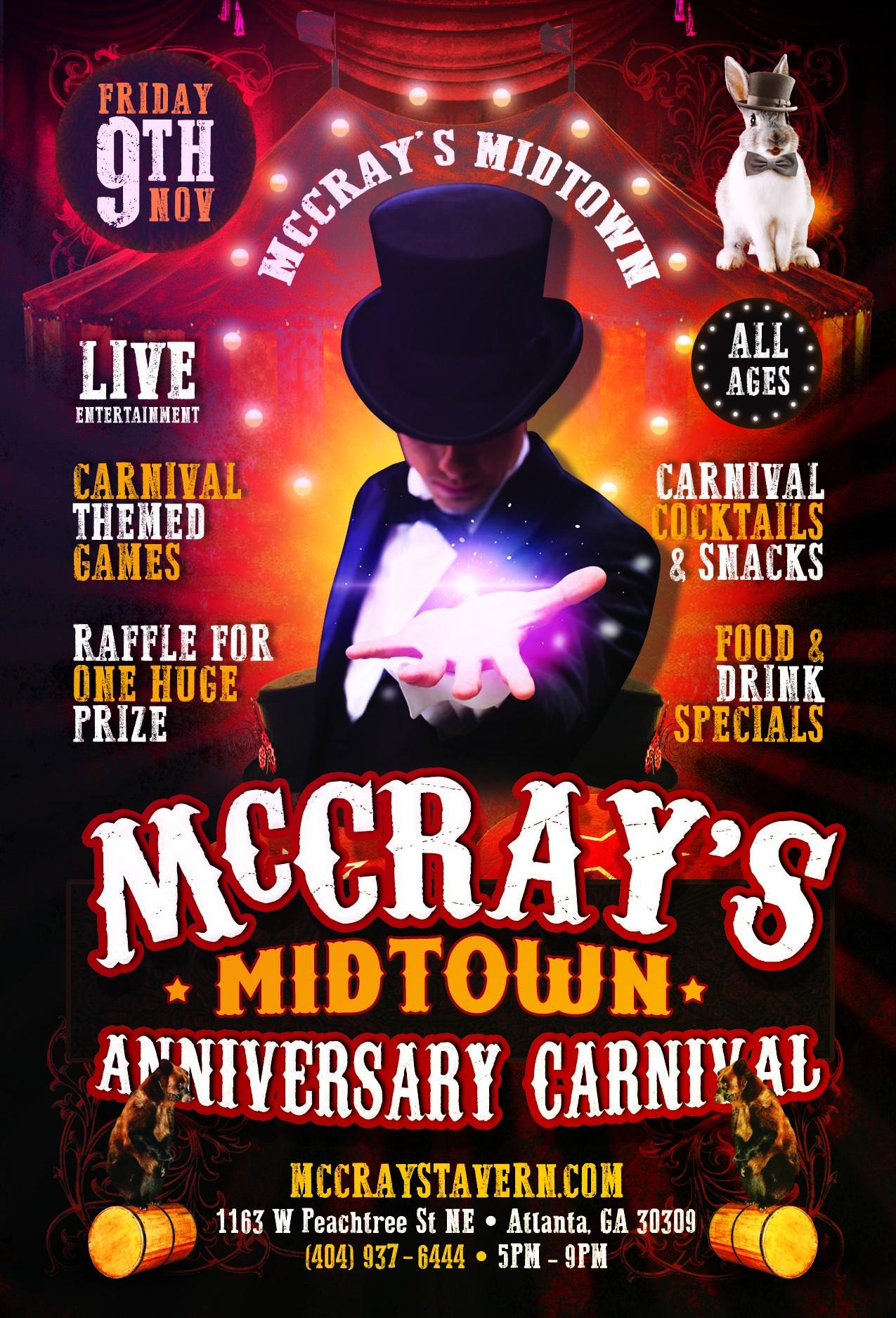 McCray's Midtown 1 Year Anniversary