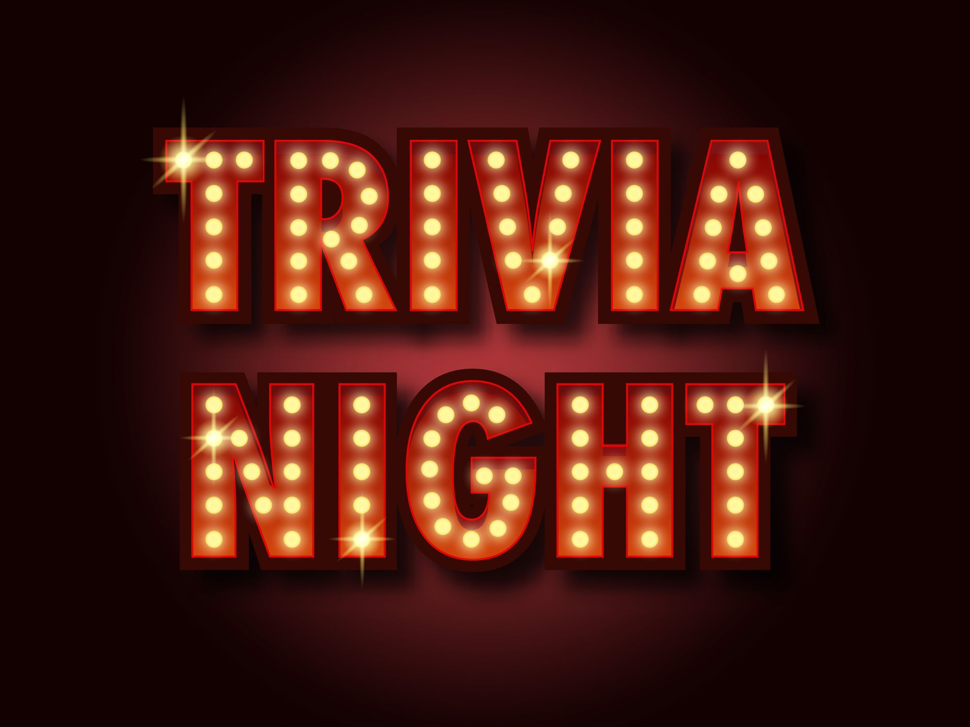 Trivia every Wednesday! – ALL LOCATIONS