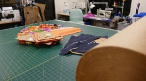 Pattern Make Table & Card with sew machines