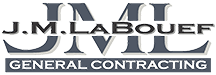 J.M. LaBouef General Contracting Logo