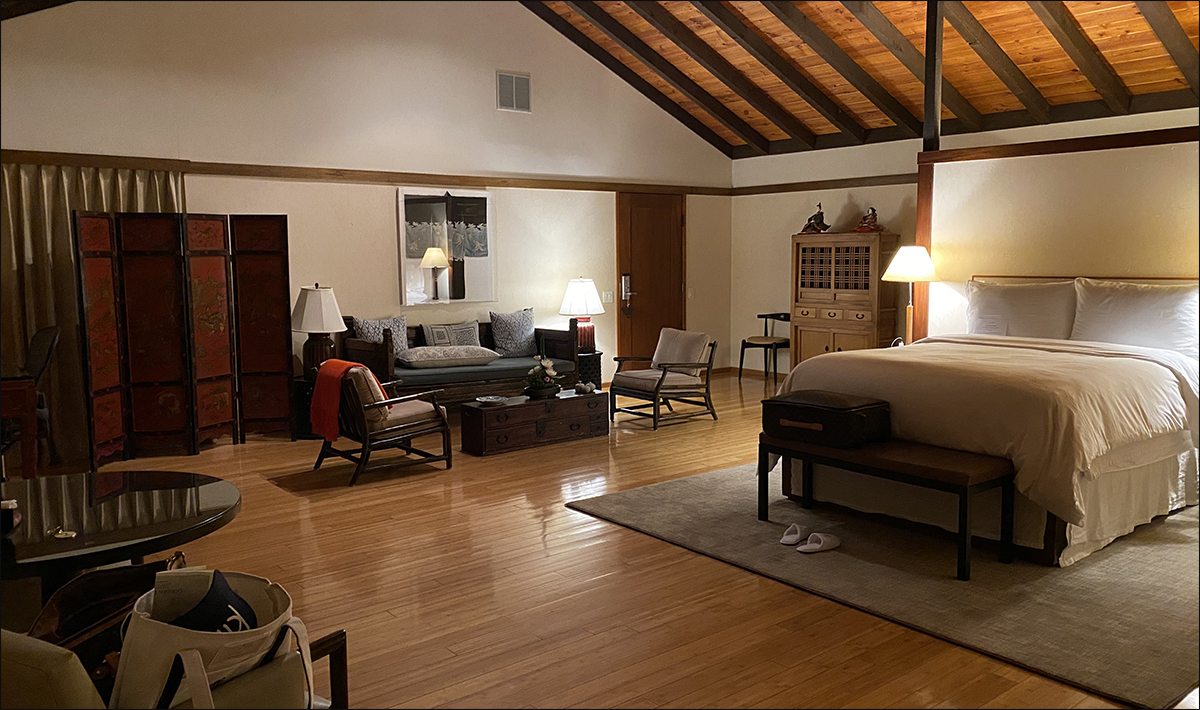 Large, comfortable rooms