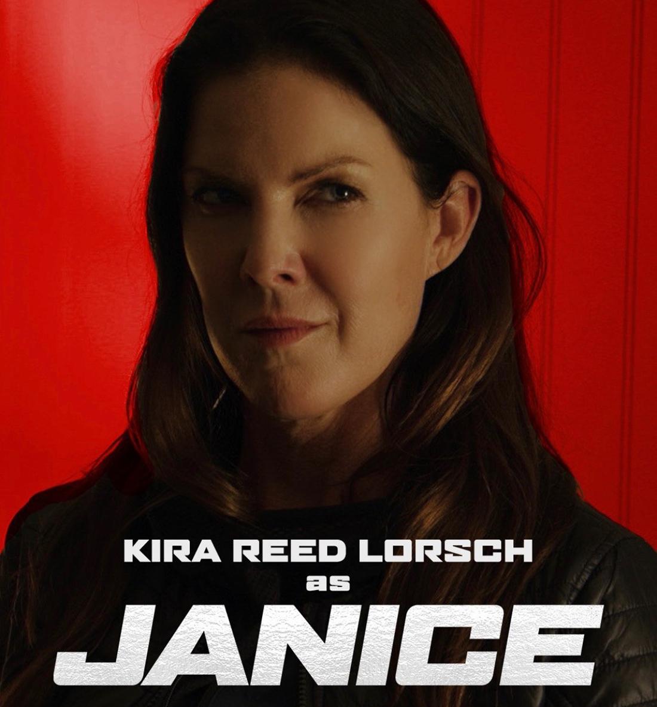 Kira as Janice in Beckman