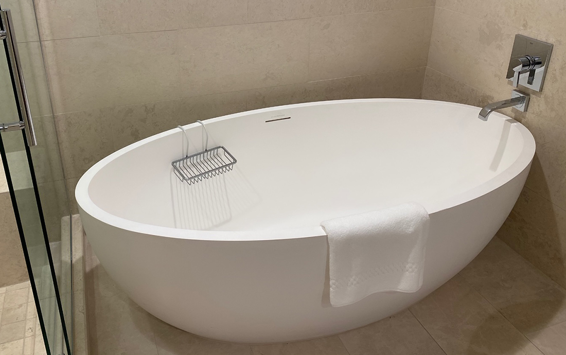 The bathtub in my room
