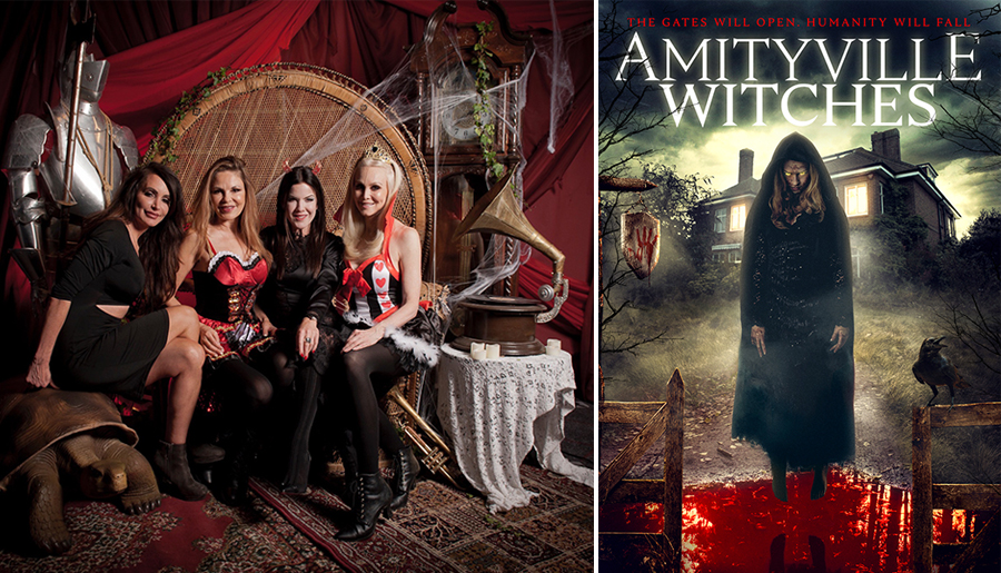 Amityville Witches starring Kira Reed Lorsch