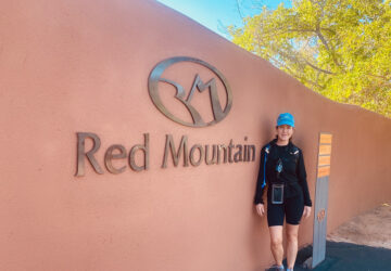 Entrance to Red Mountain Resort