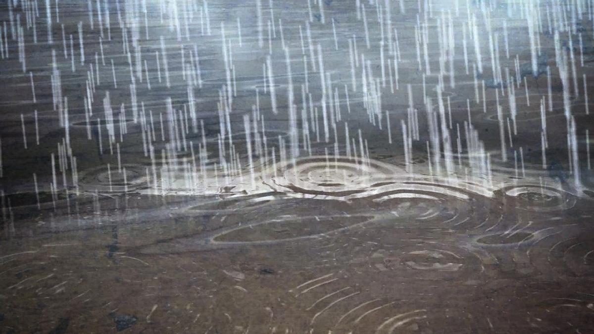 A light rain at the Ranch Malibu