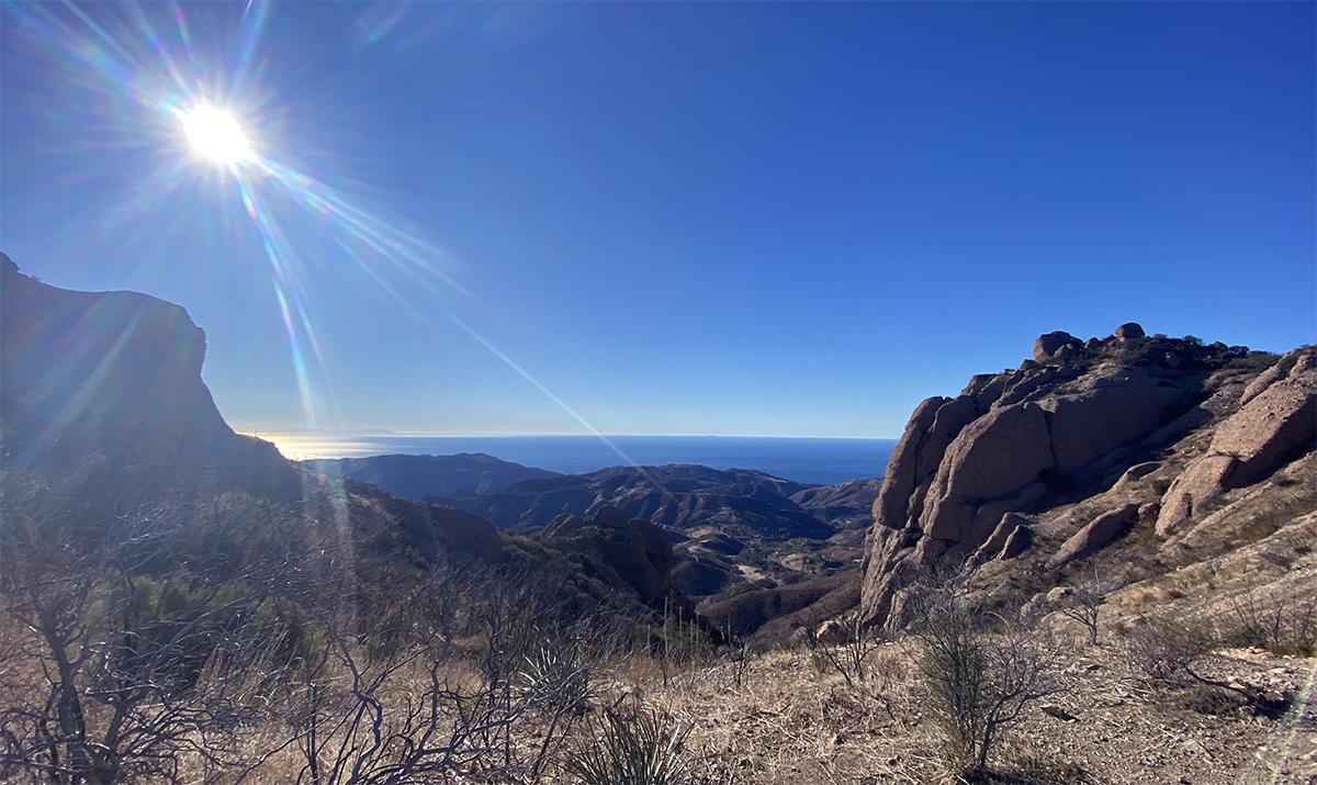 Sunrise on Kira's hike