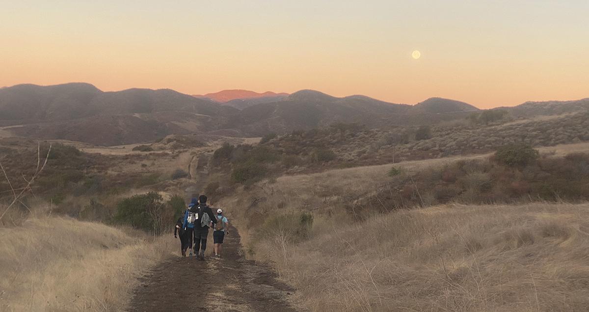 Sunrise at Malibu Ranch
