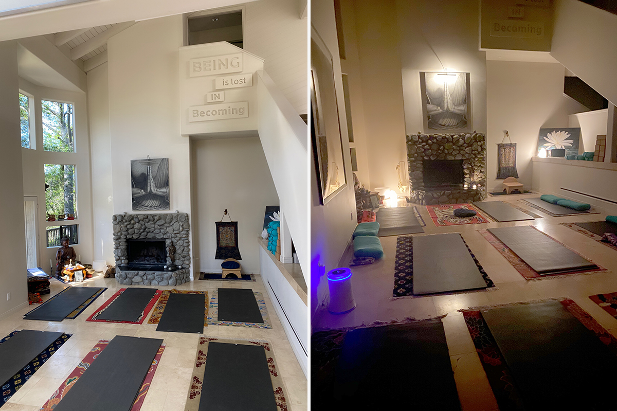 Meditation and Yoga Room at The Pearl