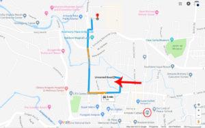 Sereno Townhomes Location Map