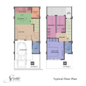 Sereno Floorplan