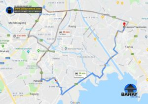 Levanto to Petron Taguig (34 Mins)