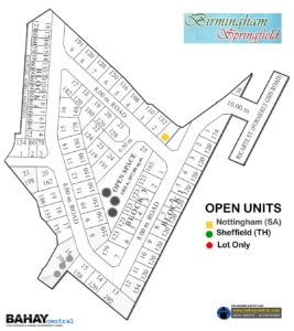 Bimingham Springfield Subdivision Map