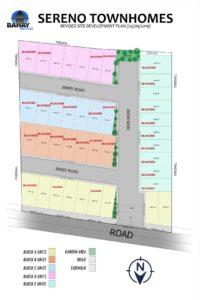Sereno Subdivision Map
