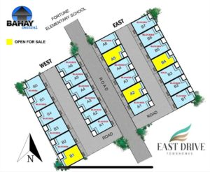 East Drive Subdivision Map