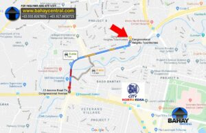 located along Congressional Avenue just 1.7km
