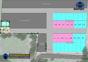 Masinag Townhomes subdivision Map