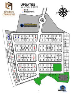Metrocity Communities Subdivision Map