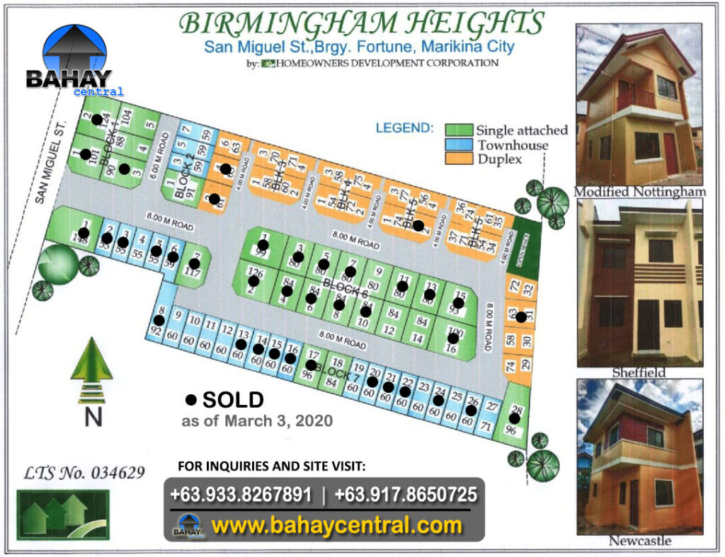 Birmingham Heights Availability