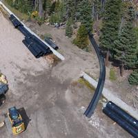 I-70 Hamilton Gulch Culvert Work