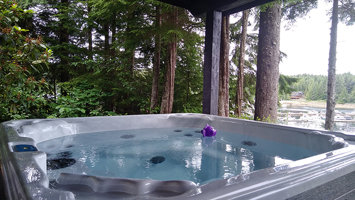 Ketchikan Vacation Rentals with Hot Tub Spa