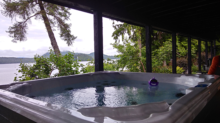 Ketchikan Alaska Vacation Rental with Hot Tub
