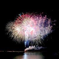 Fireworks on Beach